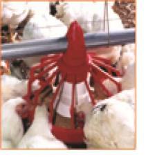 Sistema de alimentación para aves de corral