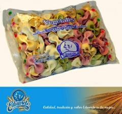 Pasta de especialidades de vegetales