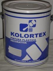 Pintura, Blanco Kolortex pintura tipo b plastica