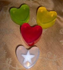 Jabón de glicerina, Línea Romance