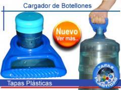 Productos de plástico, cargador de botellones