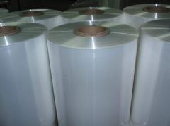 Película plana de polipropileno transparente