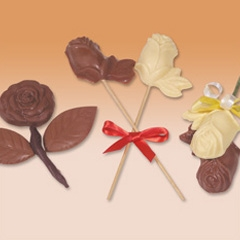 Chocolate figurines