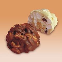 Caramelo chocolate, Turrón Mixto