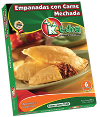 Precocinados, Empanadas con Carne Mechada