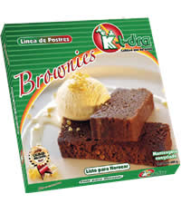 Semiproductos de confitería, Torta Brownie