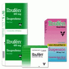 Fondos anti-inflamatorios, Ibufén