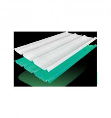 Materiales para techos, Láminas trapezoidales