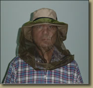 Equipos para el turismo, mosquitero protector para
