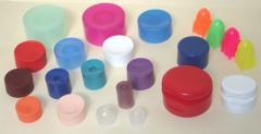 Tapones de los envases de plástico