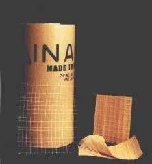Materiales de embalaje, papel con malla