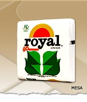 Servilletas de papel, Royal