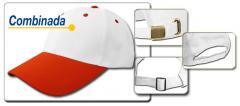 Gorras de béisbol de la publicidad