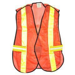 Chaleco de seguridad con cinta reflejante truper