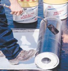 Impermeabilización, Unicapa polyester