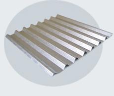 Tejas de metal, Lámina de Aluminio Frescor