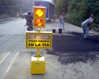 Semáforo portátil Lugeda