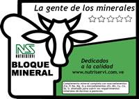 Vitaminas para animales, Bloque Mineral Ns 10%