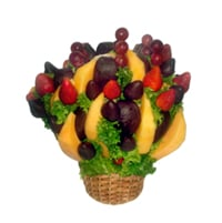Ramos de frutas, Chococanasta primavera