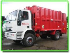 Equipo recolector compactador de basura