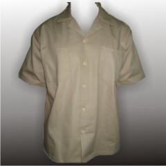 Ropa de trabajo, Camisa Manga Corta en Drill