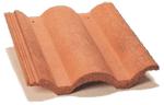 Materiales para techos, teja conoma