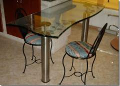 Muebles de Cocina, pedestal zafiro
