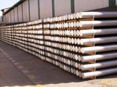 Aluminio primario, cilindros para extrusión