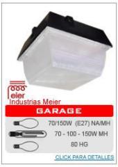 Luminaria para garage