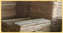 Paletas en madera