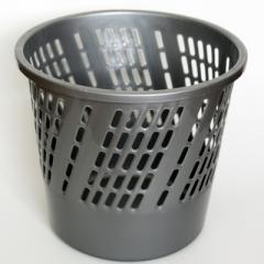 Papelera plástica tipo cesta