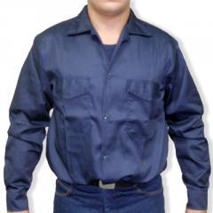 Camisa en tela dril 100 algodon