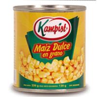 Maiz Dulce en Granos
