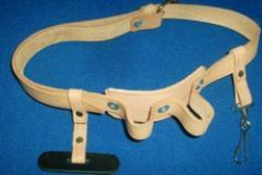 Cinturón de cuero para electricista