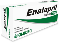 Medicamentos cardiovasculares, Enalapril