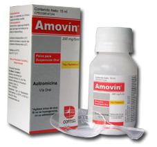 Antibióticos, Amovin