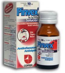Antiinflamatorios Tópico Bucal, Pinvex