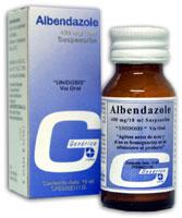 Medicamentos, Albendazole