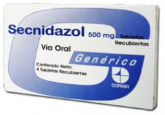 Tabletas medicinales, Secnidazol