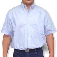 Camisa en tela Oxford