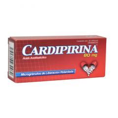 Medicamentos cardiovasculares, Cardipirina 80 mg