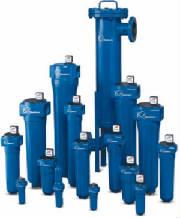 Tratamiento de aire comprimido, Filtros