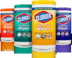 Toallitas para la limpieza Clorox Disinfecting