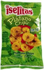 Chips de Plátano con Ajo