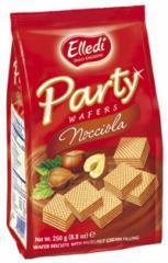Galletas, Party Wafers Nocciola
