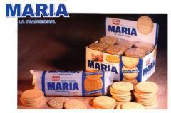 Galletas dulces tipo María