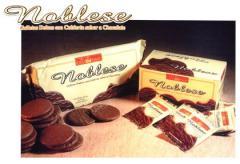 Galletas de vainilla cubiertas con chocolate