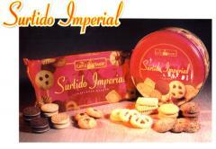Galletas dulces variadas