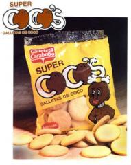 Galletas dulces sabor a coco