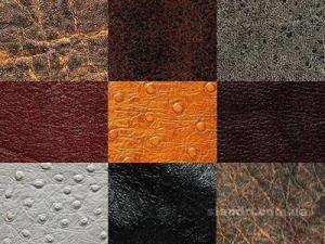Materias primas de cuero